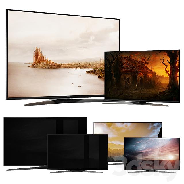 Samsung Smart TV 4 Models