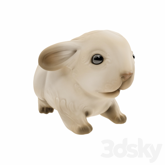 Little rabbit figurine