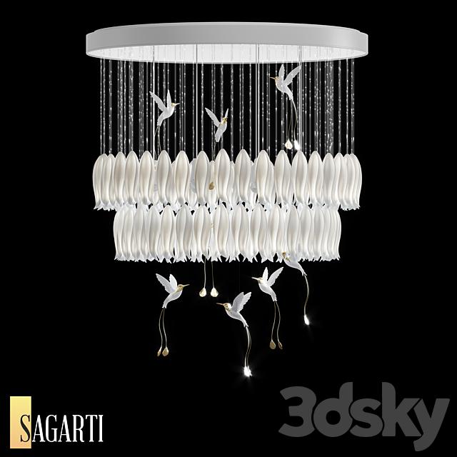 Sagarti Alba chandelier, art. Al.S.110 (OM)