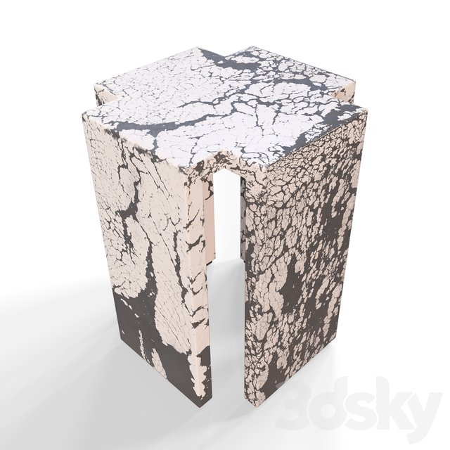 RICHTER SIDE TABLE by Kelly Wearstler