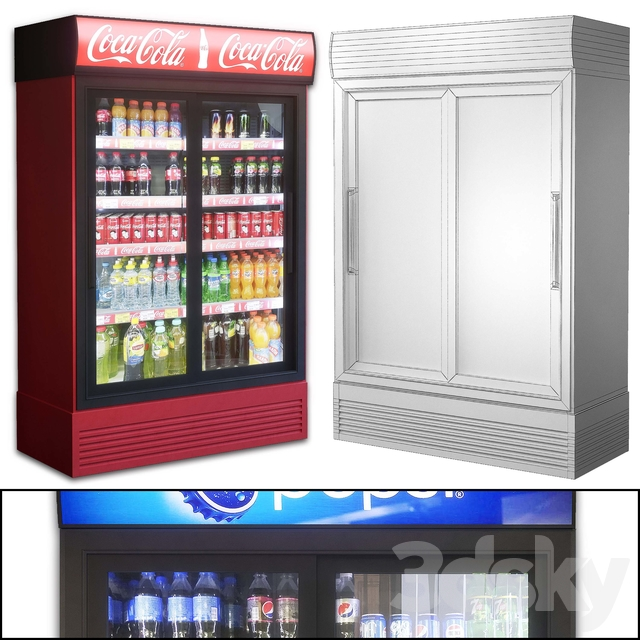 Showcase 001. Refrigerator