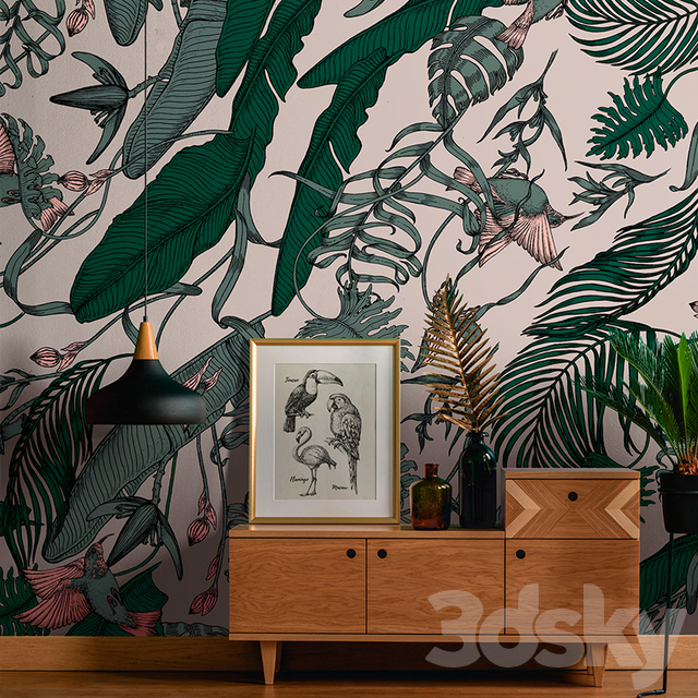 / wallpapers / TROPICAL FOLIAGE