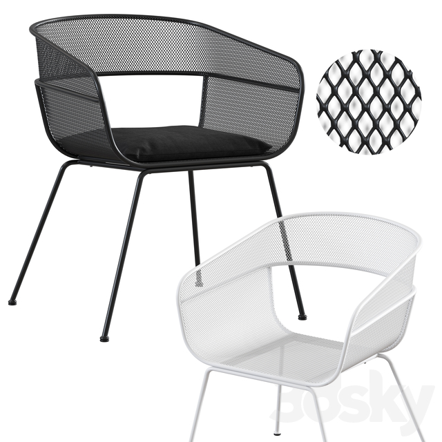 MAD / Scoop Outdoor Side Chair