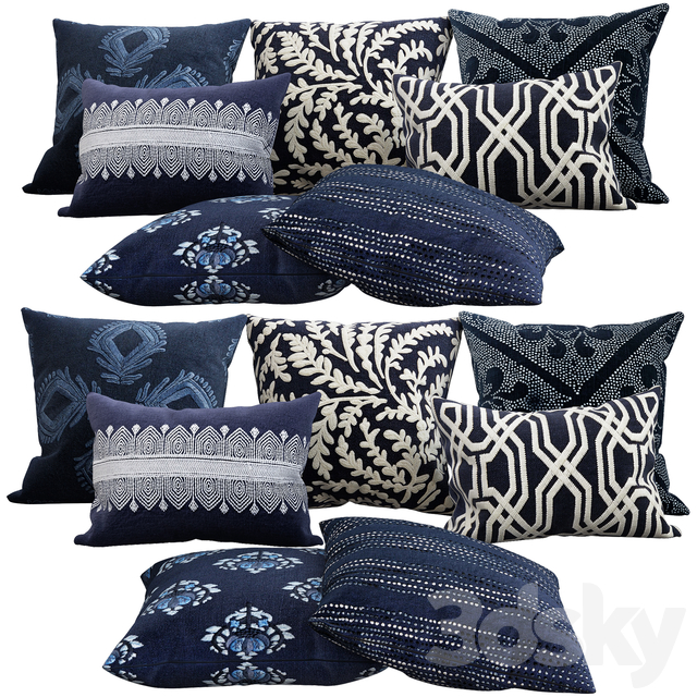 Decorative pillows, 18