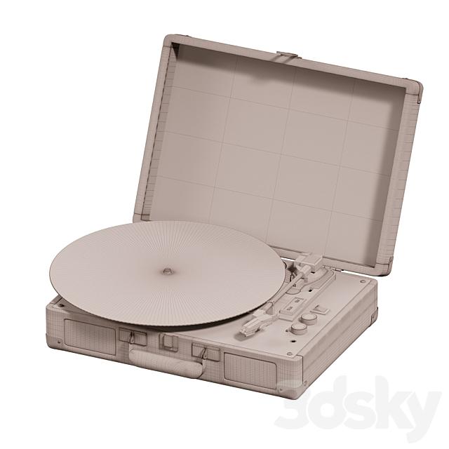 Crosley UO Exclusive Black Star Cruiser Bluetooth Record Player