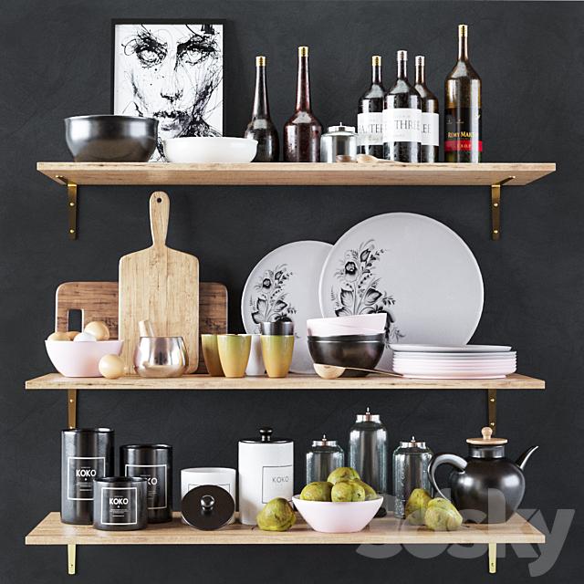 Kitchen Decorative set 05