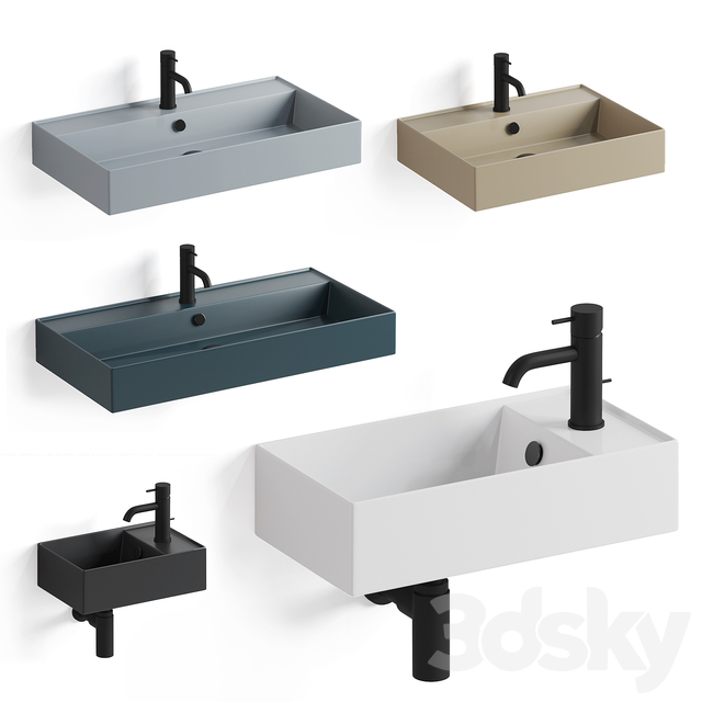 Simas Agile washbasins part 1