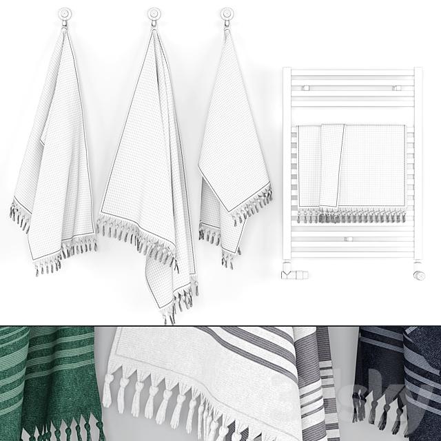 Towels Set - Scandinavian Design