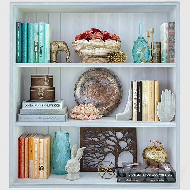 Decorative set / Shelves