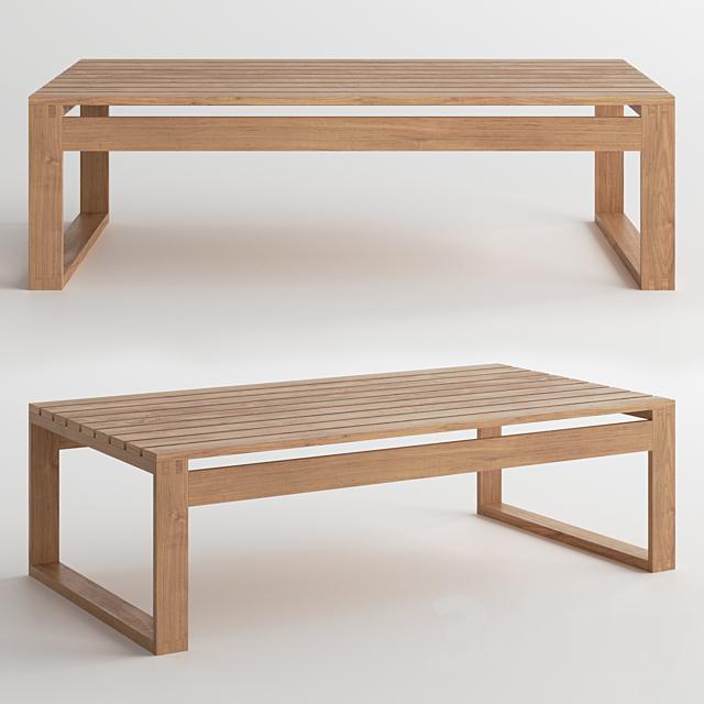 DWR Block Island Coffee Table / Coffee Table