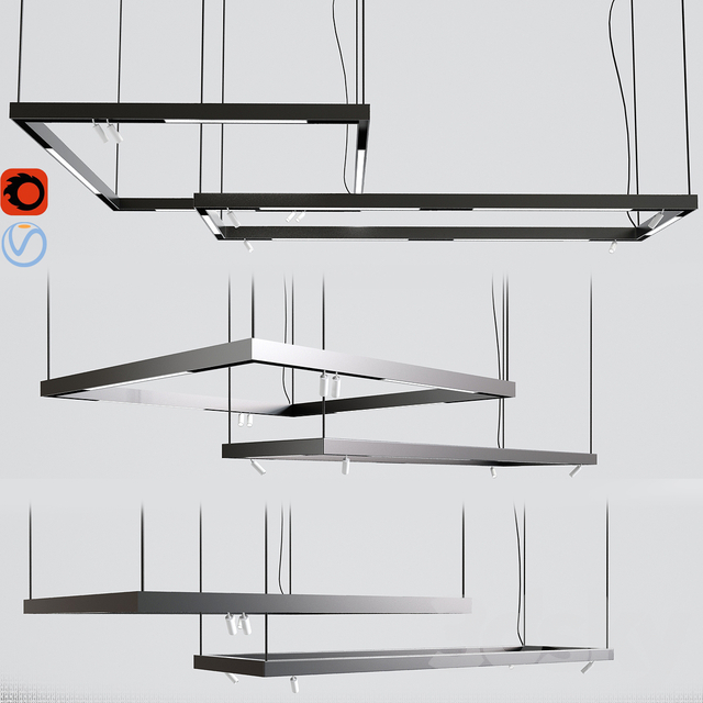 Suspensions Modules Ceiling Track Light