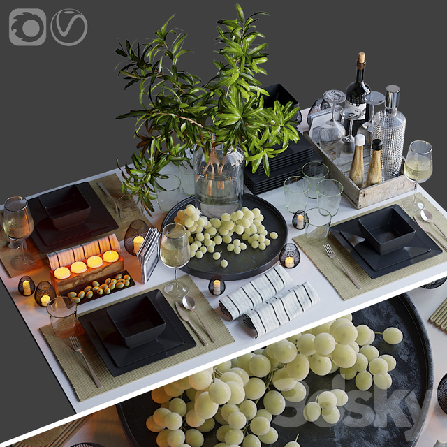 Table setting 34