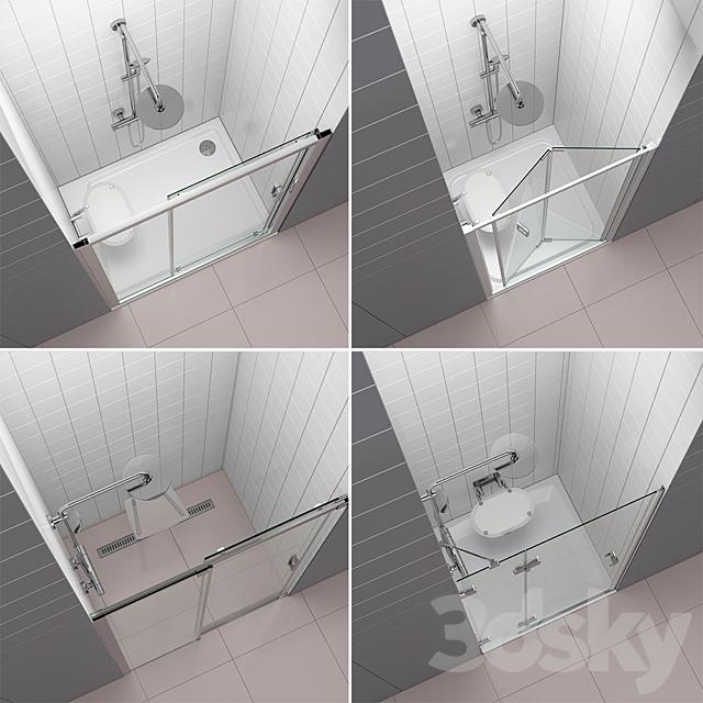 Set of shower doors RAVAK set 52