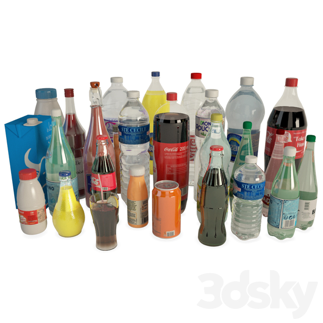 Bottles and drinks