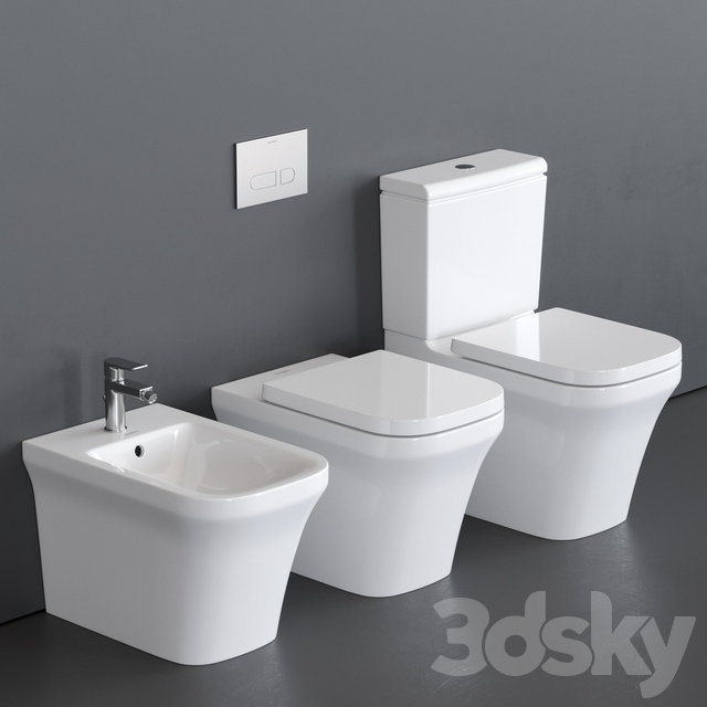 Duravit P3 Comforts WC