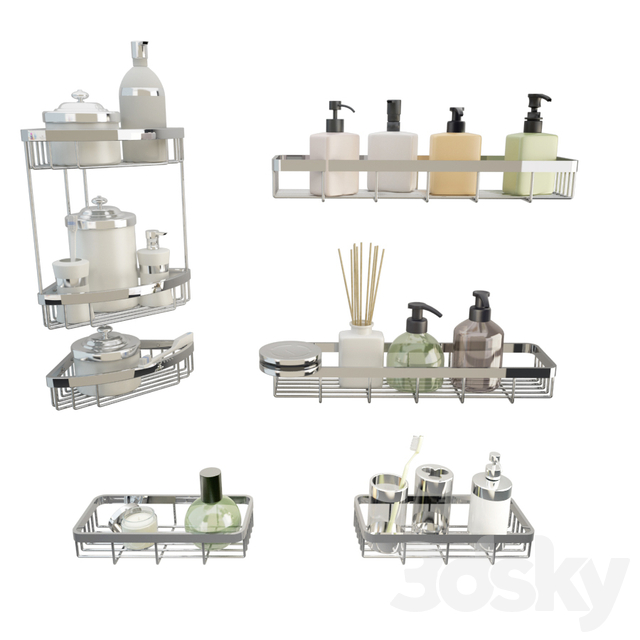 Bathroom Shelves and Products