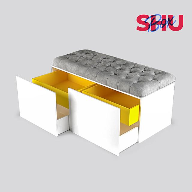 OM Bench with storage system