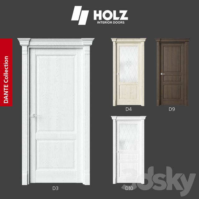 OM Doors HOLZ: DANTE collection (part 2)