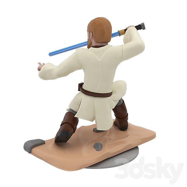 Obi-Wan Kenobi Cartoon Figure