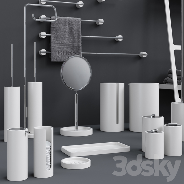 Bathroom Accessories Decor Walther Stone Collection