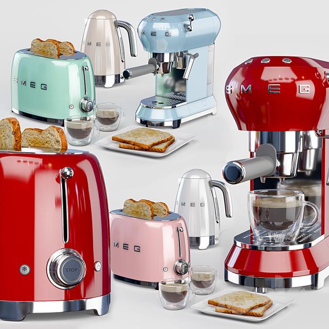 Set of kitchen appliances SMEG