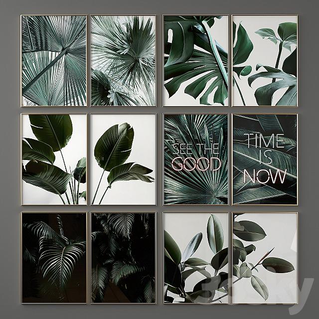 Green Poster Set 06