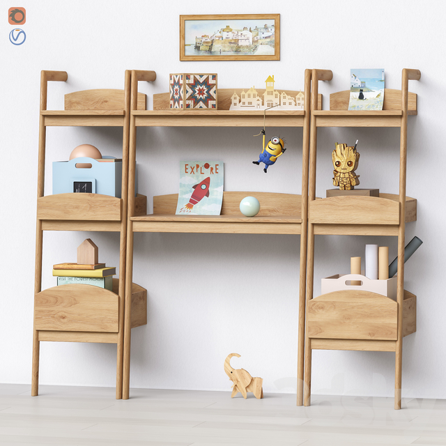 Toys and furniture set 56