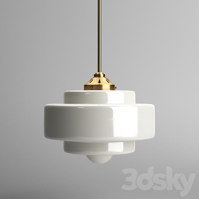 Savoy mold pendant