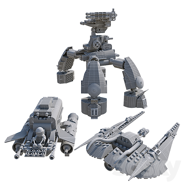 LEGO MT-201 Ultra-Drill Walker