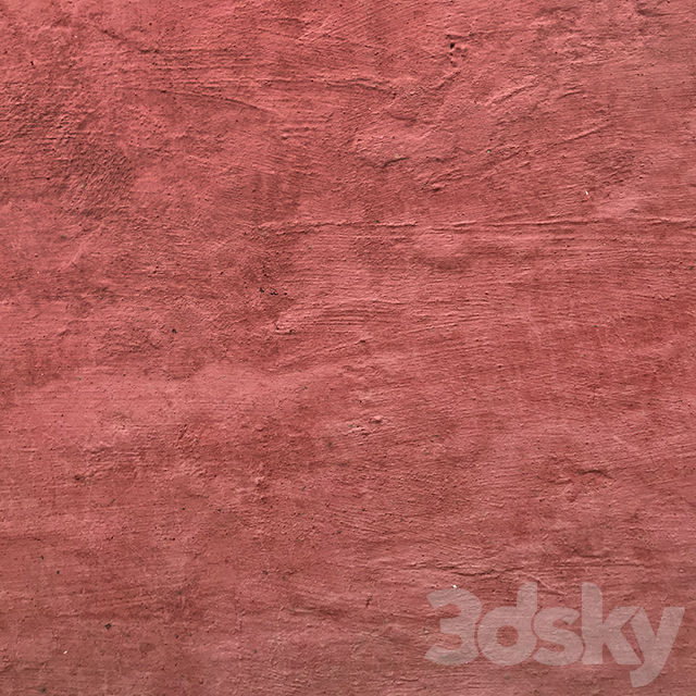 Indian red stucco