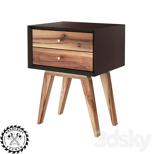 Bedside table Dastin - WoodCraftStudio