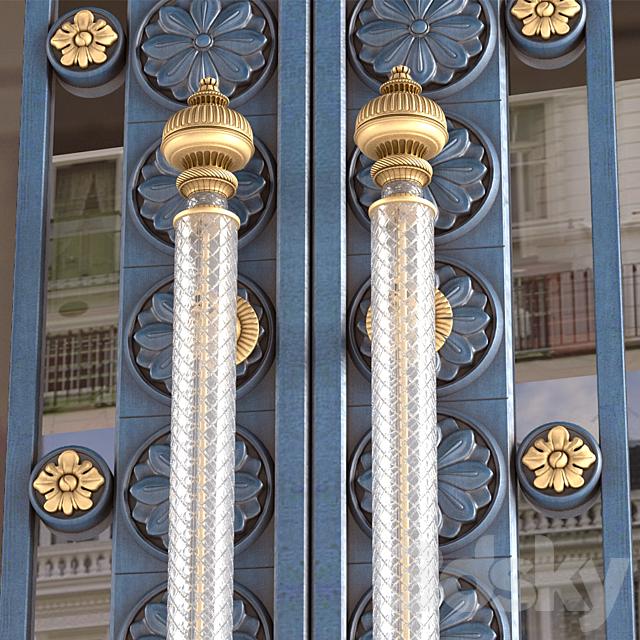 Entrance classic door. Entrance classic door