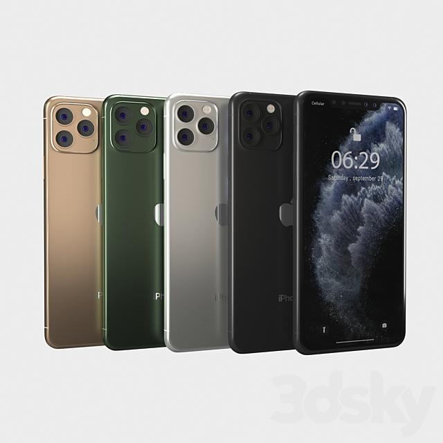 iPhone 11 Pro, 11 Pro Max