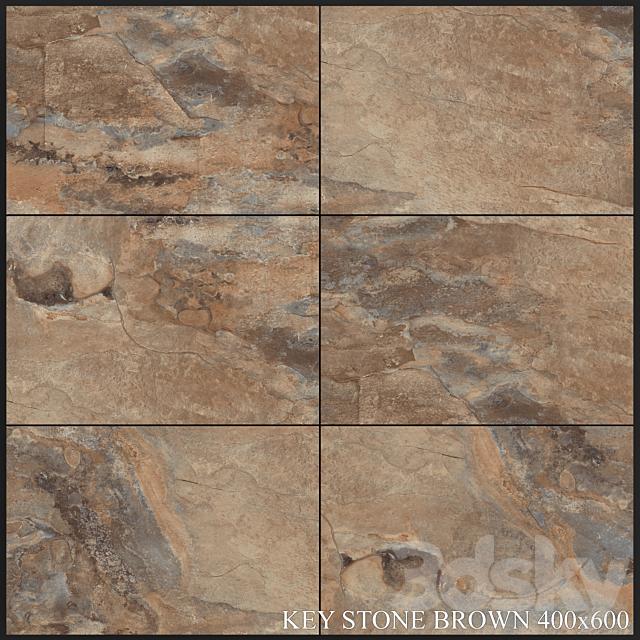 Yurtbay Seramik Key Stone Brown 400x600