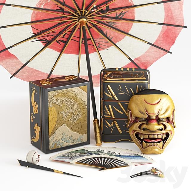 Japanese Decorative Set