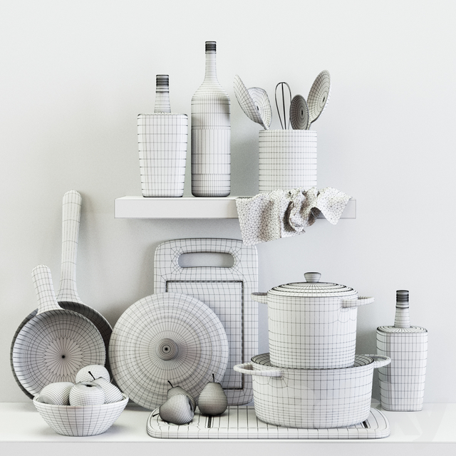 Kitchen Decorative set 012