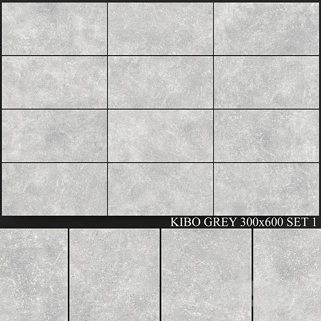 Yurtbay Seramik Kibo Gray 300x600 Set 1
