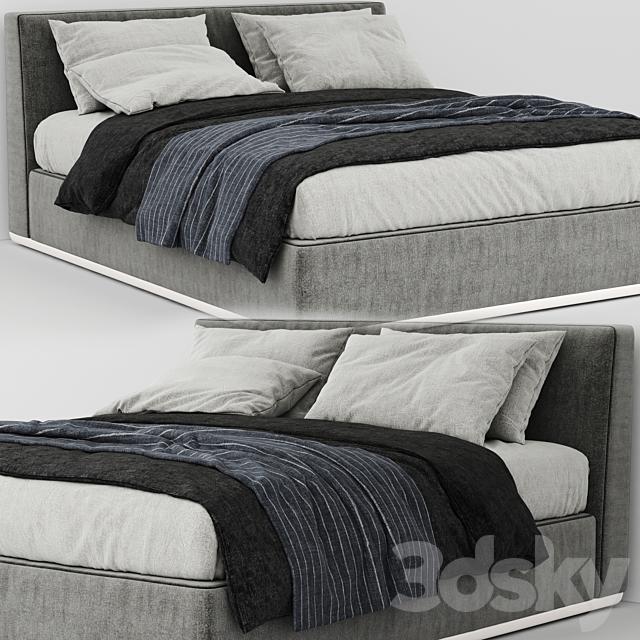 Bed powell minotti