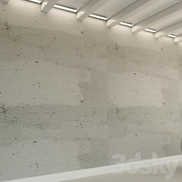 Concrete wall. Old concrete. 88