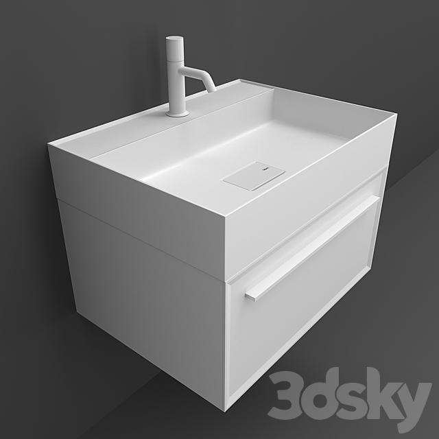 Washbasins Falper 7 metrica D7H