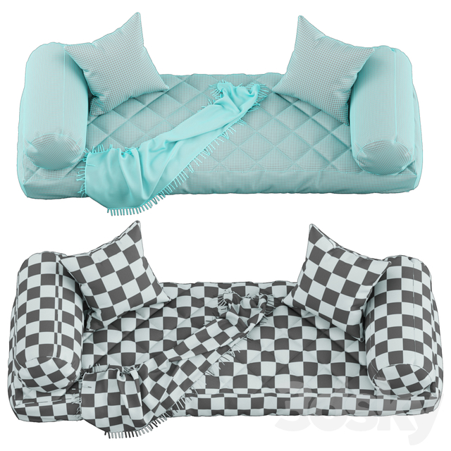 Seat pillow set 2