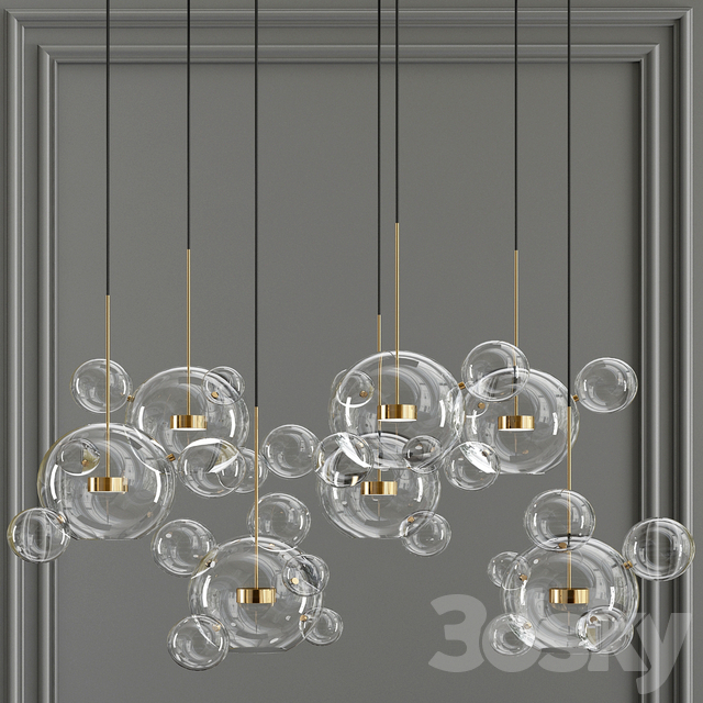 Bolle Bubble LED Pendant Lamp 34
