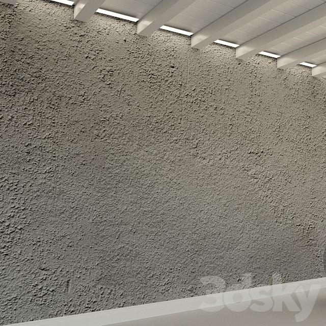 Concrete wall. Old concrete. 121