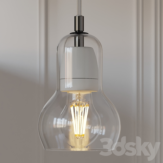 NOVA 68 Tradition Modern Glass Bulb Pendant Lamp