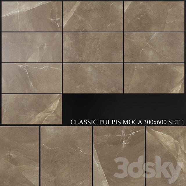 Yurtbay Seramik Classic Pulpis Moca 300x600 Set 1