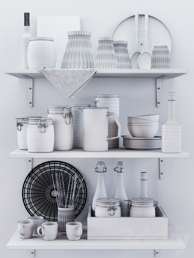 Kitchen Decorative set 023