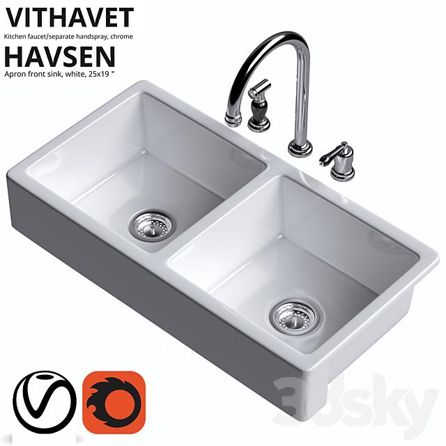 Ikea VITHAVET, HAVSEN