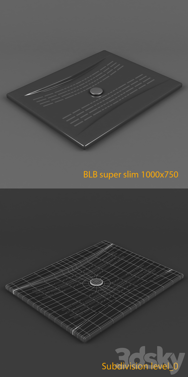 Blb Super Slim Shower Tray