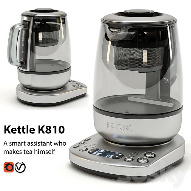 3d Models Kitchen Appliance Kettle Bork K810