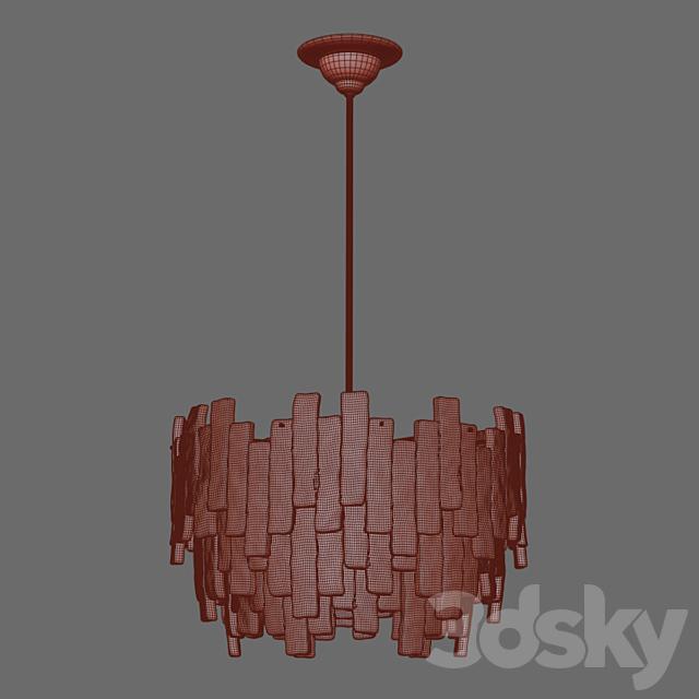Large Austrian Lamp from Kalmar 1970s
